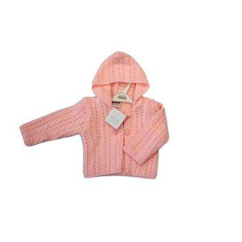 Knitted Baby Girl Pram Coat