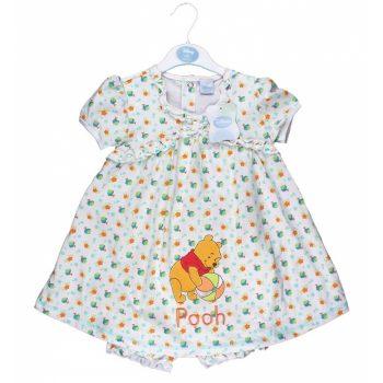 Winnie the Pooh Dress & Bloomer Set
