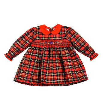Girls Tartan Dress