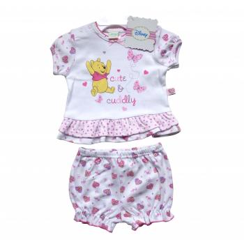 Winnie the Pooh Cute & Cuddly T-shirt & Shorts Set