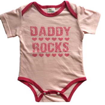 Bodysuit Short Sleeve – Daddy Rocks