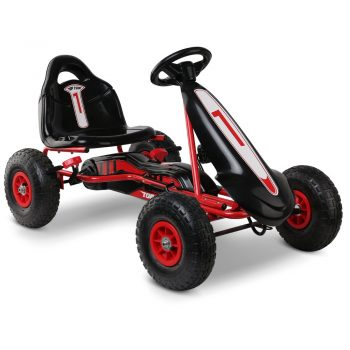 Rigo Kids Pedal Powered Go Kart – Red