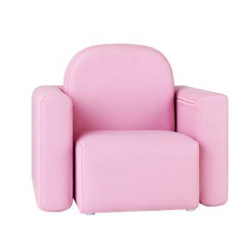 Artiss Kids Convertible Armchair – Pink