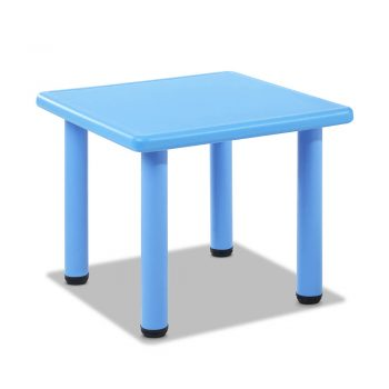 Keezi Kids Table and Chair Set – Blue