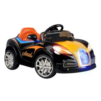 Rigo Kids Ride On Car  – Black & Orange