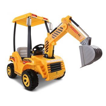 Rigo Kids Ride On Excavator – Yellow