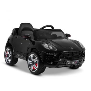 Macan Inspired Kids Ride On Car  – Black