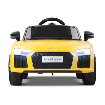 Audi R8 Kids Ride On Car – Yellow