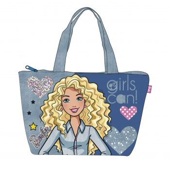 Barbie Tote / Beach Bag – Girls Can!