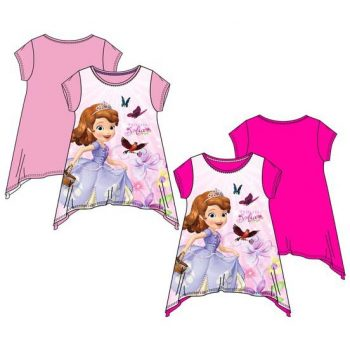 Sofia the First T-shirt – Pink