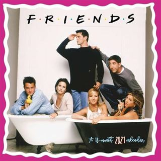 Friends – 2021 Mini Wall Calendar