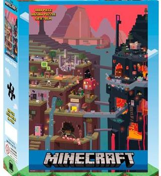 Puzzle – Minecraft World Red 1000 Pieces