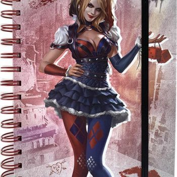 Notebook – DC Comics Batman Arkham Knight – Harley Quinn