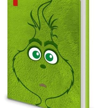 Premium Notebook – The Grinch – Plush