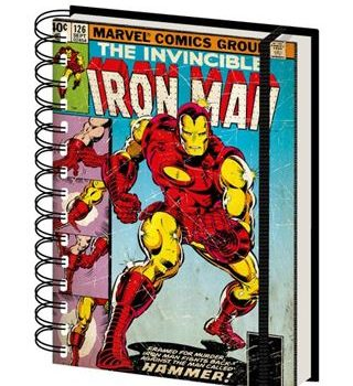 Notebook – Marvel Comics – Iron Man Hammer