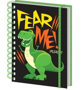 Notebook – Toy Story – Rex Fear Me