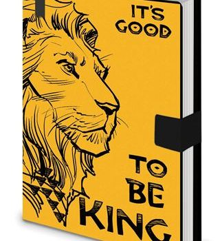 Premium Notebook – The Lion King Classic – Good To Be King
