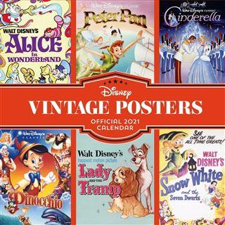 2021 Calendar – Disney Vintage Posters