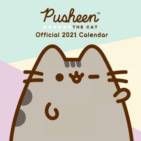 Pusheen cat calendar