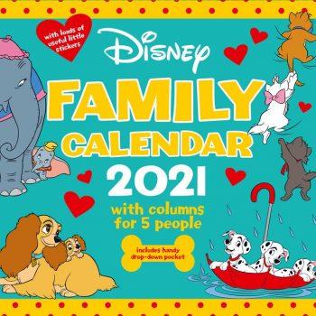 2021 Calendar Family Organiser – Disney Classic