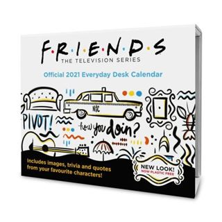 2021 Desk Block Calendar – Friends