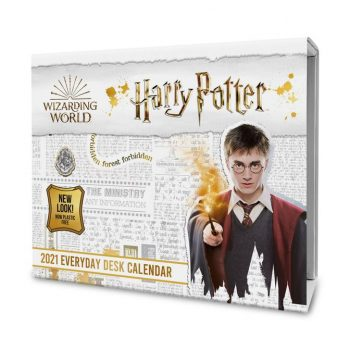 2021 Desk Block Calendar – Harry Potter