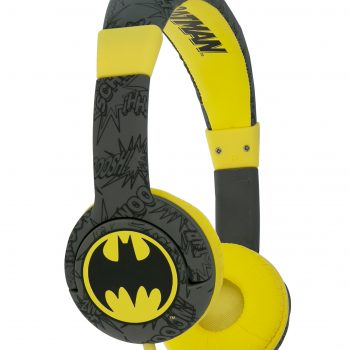 Batman Bat Signal Kids Headphones – Black/Yellow