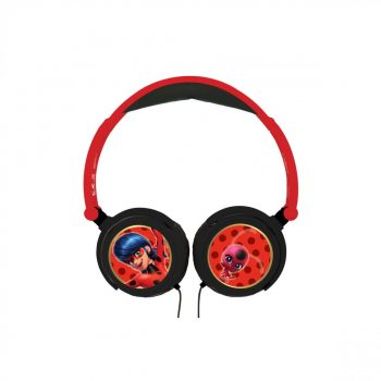 Miraculous Ladybug LEXIBOOK Kids Headphones Black / Red