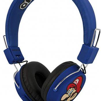 NINTENDO Foldable Super Mario Luigi Headphones