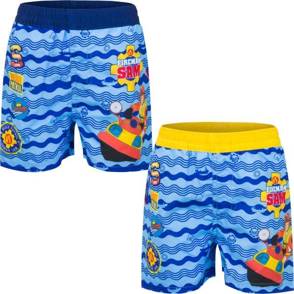 Fireman Sam Surf Shorts