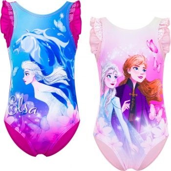 Swim Suit – Frozen II Girls One Piece – Dots