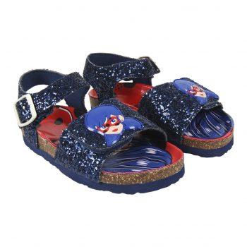 Sandals – Miraculous Ladybug – Blue Glitter