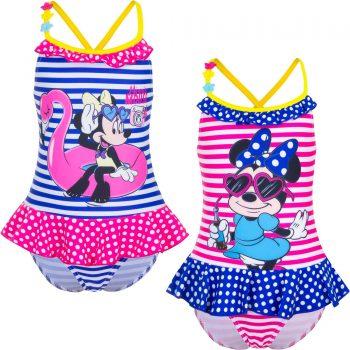 Swim Suit – Minnie Mouse Girls One Piece – Summer