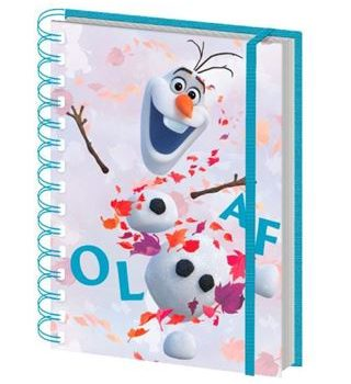 Notebook – Frozen II – Olaf Leaves