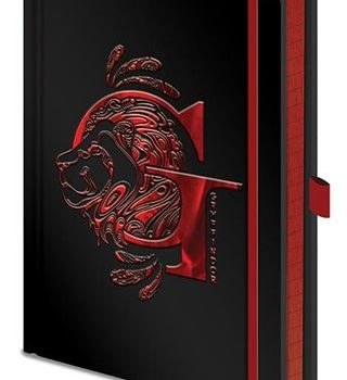 Premium Notebook – Harry Potter – Gryffindor Foil