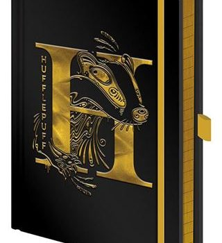 Premium Notebook – Harry Potter – Hufflepuff Foil