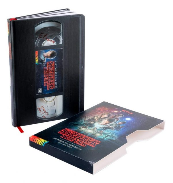 Stranger Things VHS Notebook