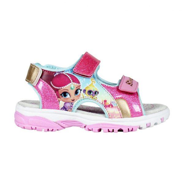 Shimmer and shine sandals glitter