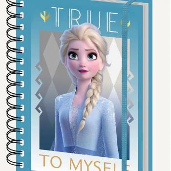 Notebook – Frozen II – Elsa True to Myself