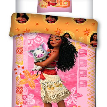 Single Quilt Cover Set – Disney Moana and Pua