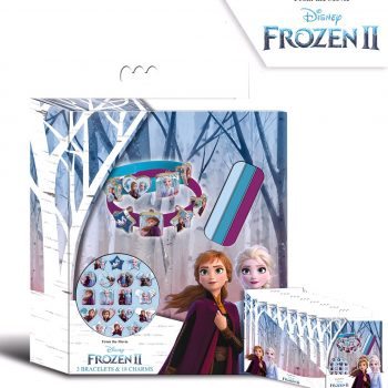 Jewellery – Frozen 2 Disney 3 Bracelets with 18 Charms