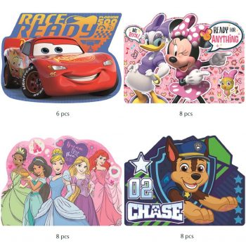 Placemat – Disney and Paw Patrol – Take your pick