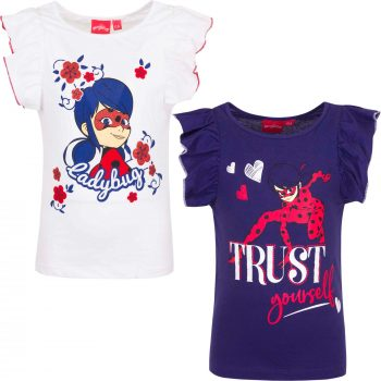 T-shirt – Miraculous Ladybug Flutter Sleeves- Trust
