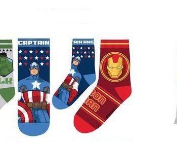 Socks – Marvel Avengers SuperPower – Boys 3 pack
